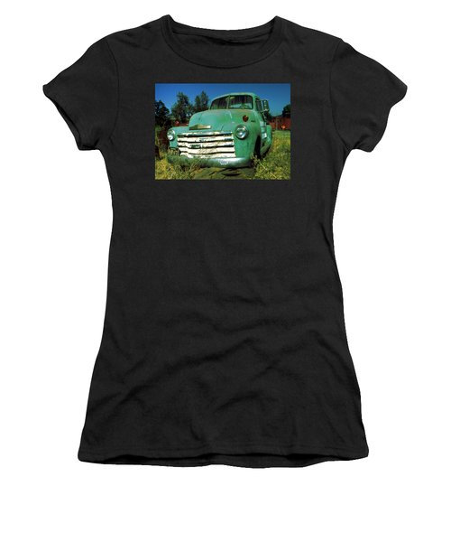 Green Pickup Truck 1959 Women's T-Shirt