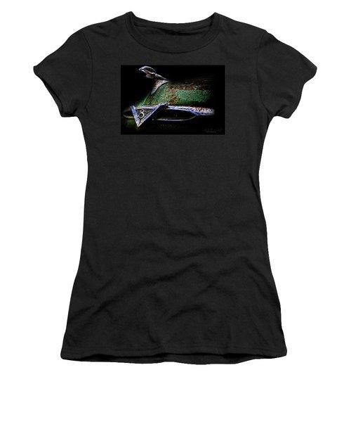 Green Ram Emblem Women's T-Shirt