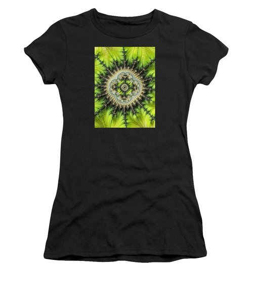 Green Star Women's T-Shirt (Athletic Fit)