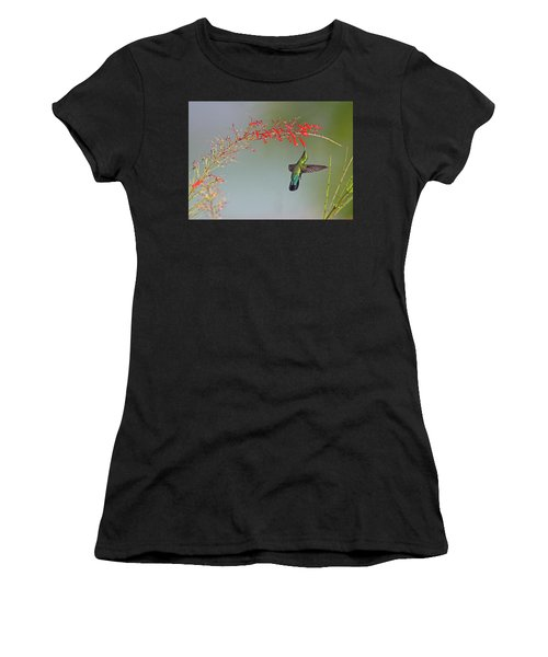 Green-throated Carib Women's T-Shirt (Athletic Fit)