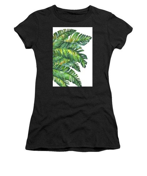 Green Tropic  Women's T-Shirt