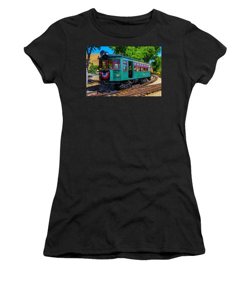 Green Tucson Cornelia And Gila Bend R R Women's T-Shirt (Athletic Fit)