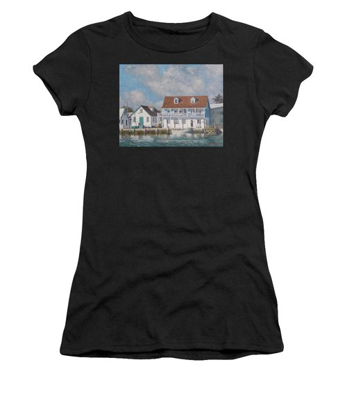 Green Turtle Cay Past And Present Women's T-Shirt
