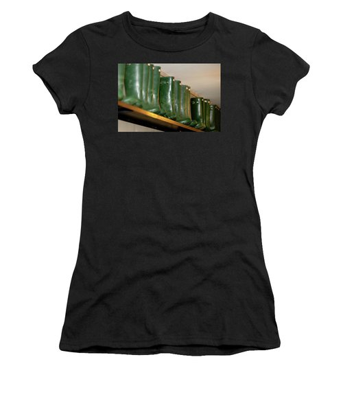 Green Wellies Women's T-Shirt
