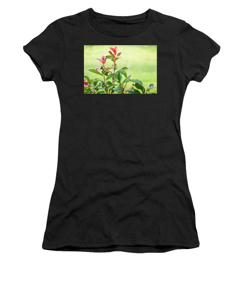 Greenery And Red Women's T-Shirt