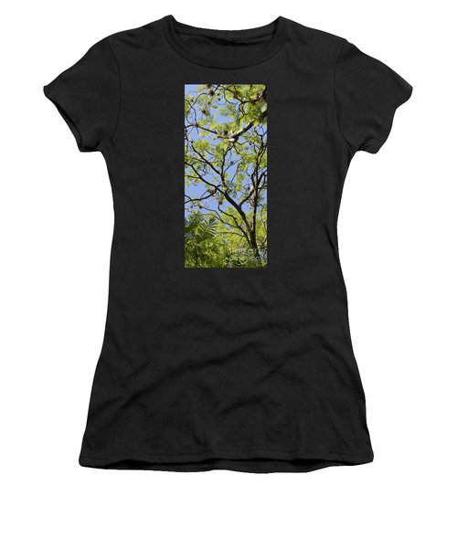 Greenery Center Panel Women's T-Shirt (Athletic Fit)