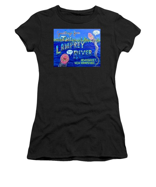 Greetings From The Lamprey River Women's T-Shirt (Athletic Fit)