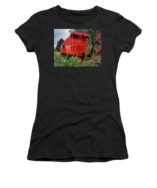 Gretna Railroad Park Women's T-Shirt (Athletic Fit)