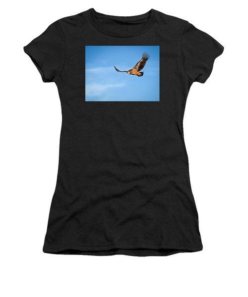 Griffon Vulture Women's T-Shirt (Athletic Fit)