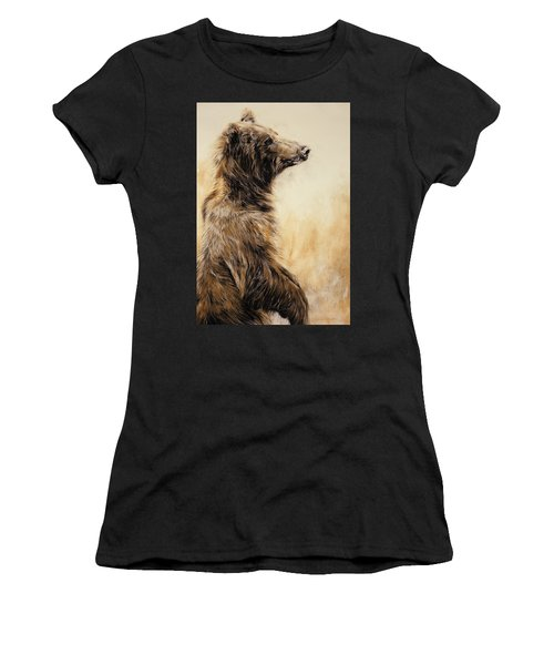 Grizzly Bear 2 Women's T-Shirt (Athletic Fit)