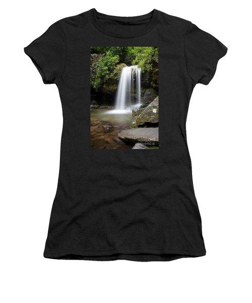Grotto Falls Vertical Women's T-Shirt