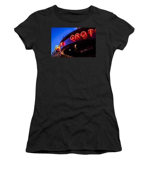 Grotto - Night View Women's T-Shirt