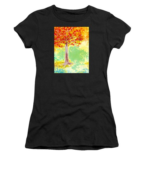Growing Love Women's T-Shirt (Athletic Fit)