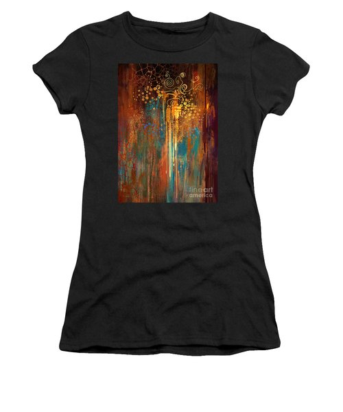 Women's T-Shirt featuring the painting Growth by Tithi Luadthong