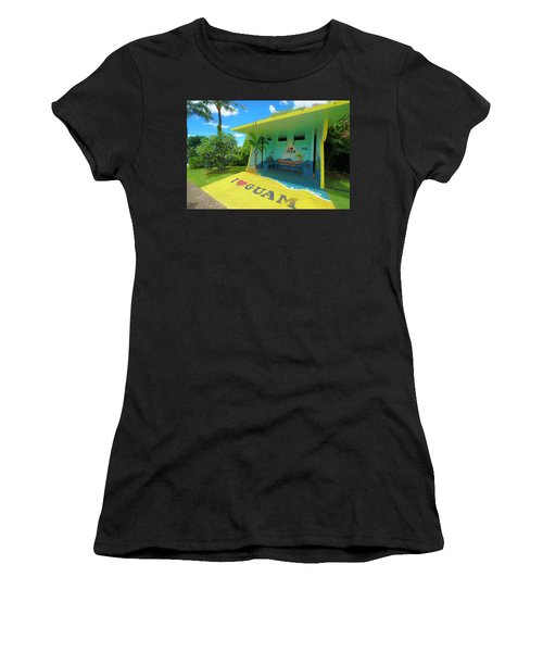 Guam Bus Stop Women's T-Shirt