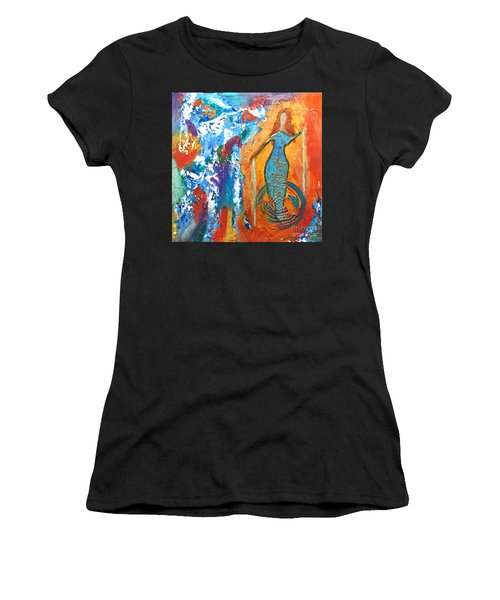 Guardian Of Rainbow Light Women's T-Shirt (Athletic Fit)