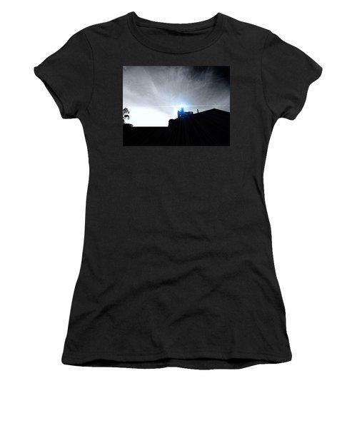 Guiding Light-alcatraz Women's T-Shirt (Athletic Fit)