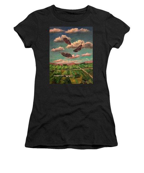 Guinea Feathers Women's T-Shirt