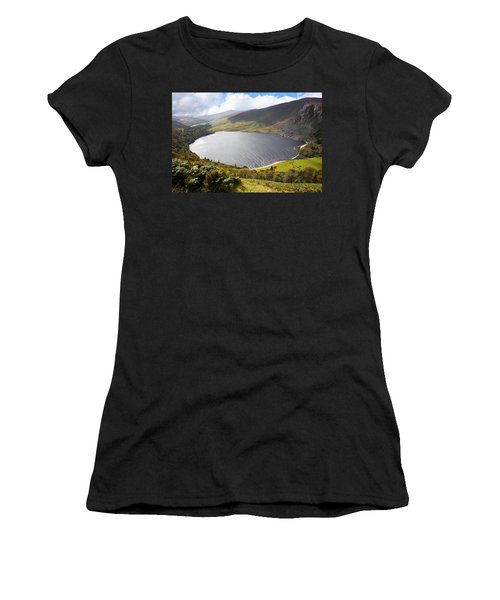 Guinness Lake In Wicklow Mountains  Ireland Women's T-Shirt (Athletic Fit)