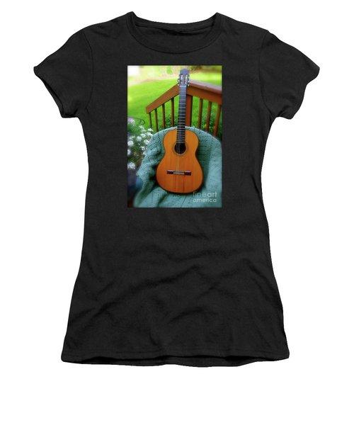 Guitar Awaiting Women's T-Shirt