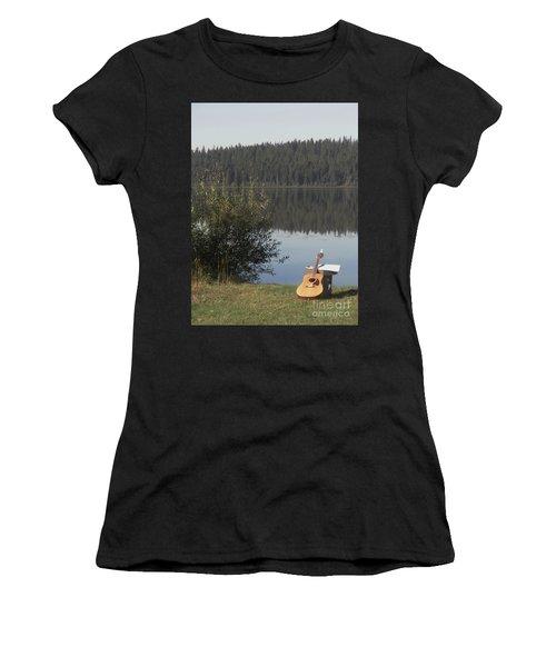 Guitar Lake Women's T-Shirt