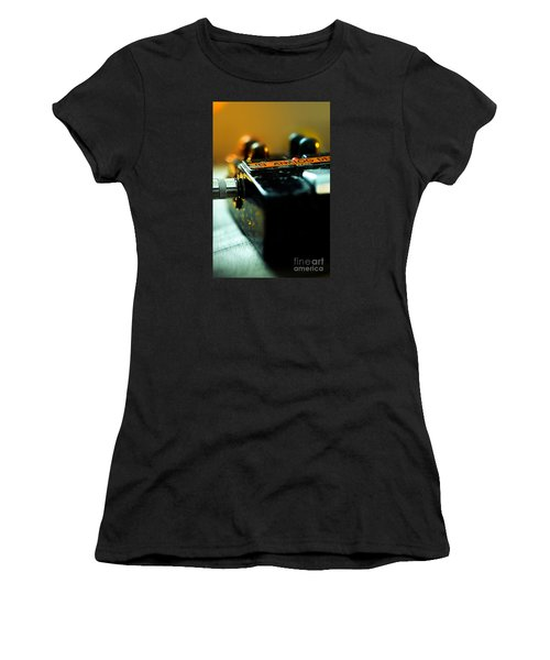 Guitar Pedal Women's T-Shirt