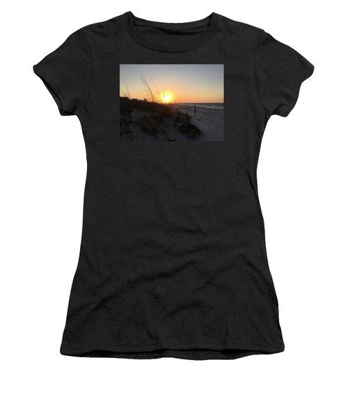 Gulf Shores Sunrise  Women's T-Shirt (Athletic Fit)