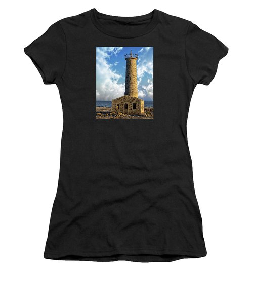 Gull Island Lighthouse Women's T-Shirt