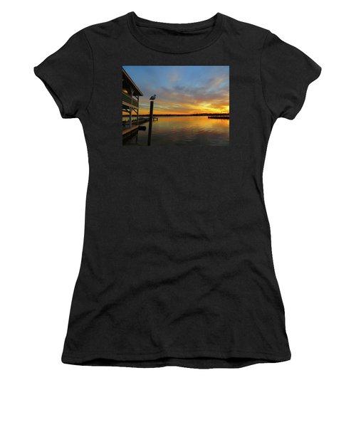 Gull Sunset Women's T-Shirt