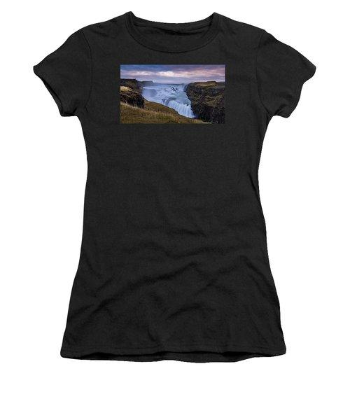 Gullfoss, Sunrise Women's T-Shirt
