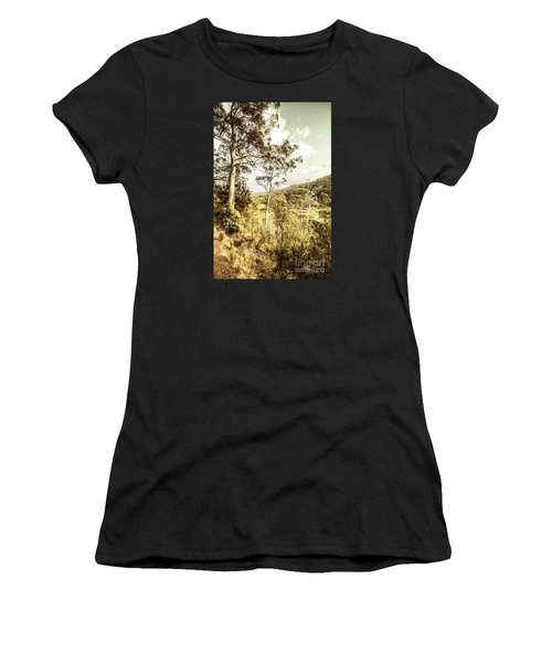 Women's T-Shirt featuring the photograph Gumtree Bushland by Jorgo Photography - Wall Art Gallery