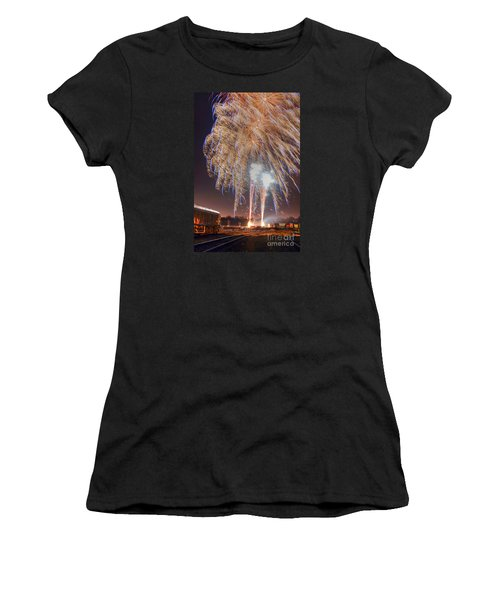 Guy Fawkes Night Fireworks Women's T-Shirt