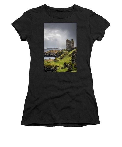 Gylen Castle On Kerrera In Scotland Women's T-Shirt