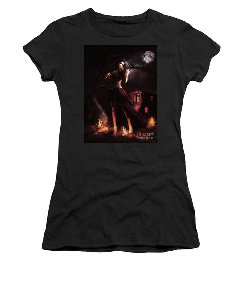 Gypsy Moon Women's T-Shirt (Athletic Fit)