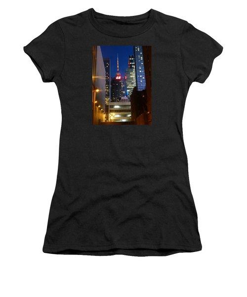 H M Building Women's T-Shirt (Athletic Fit)