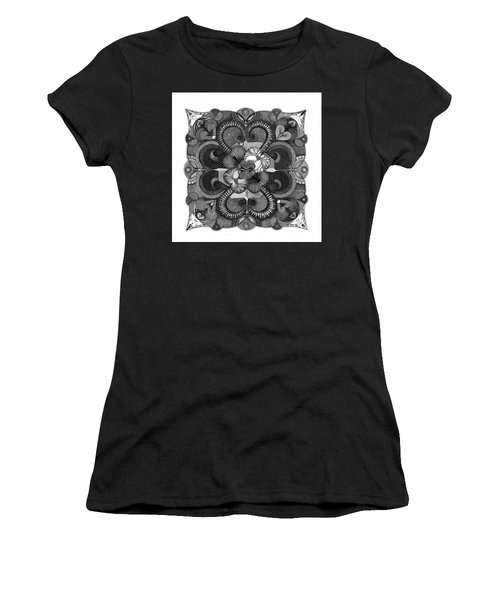 Women's T-Shirt featuring the drawing H2H by James Lanigan Thompson MFA