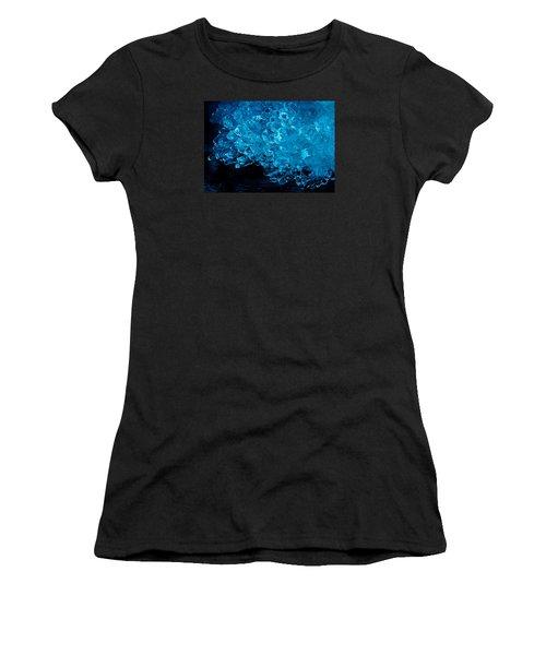 H2o....more Precious Than Diamonds Women's T-Shirt (Junior Cut) by Sean Sarsfield