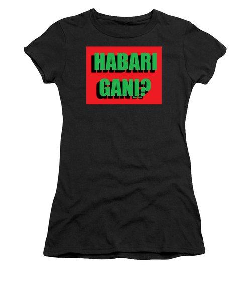 Habari Gani Women's T-Shirt