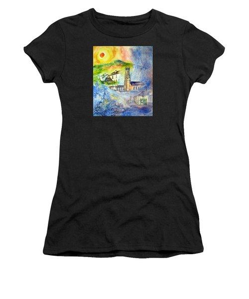 Hacketstown- Aide Memoire  Women's T-Shirt (Athletic Fit)