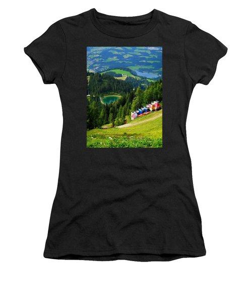 Hahnenkamm - Kitzbuehel Women's T-Shirt