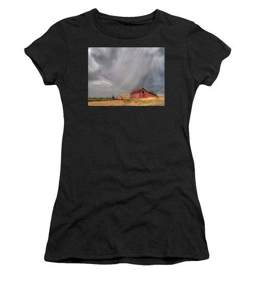 Hail Shaft And Montana Barn Women's T-Shirt