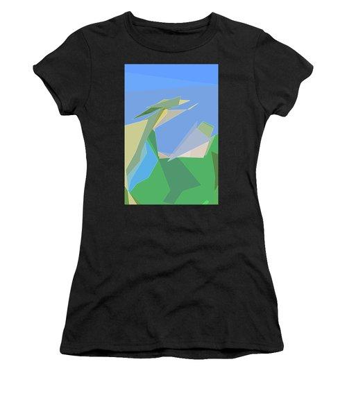 Hailing A Taxi Women's T-Shirt