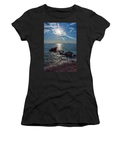 Haitian Beach In The Late Afternoon Women's T-Shirt