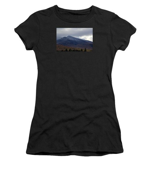 Half And Half Women's T-Shirt (Athletic Fit)