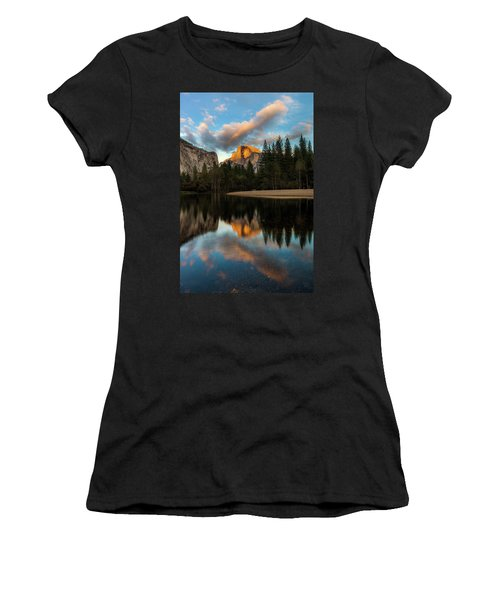 Half Dome Sunset Glow Women's T-Shirt