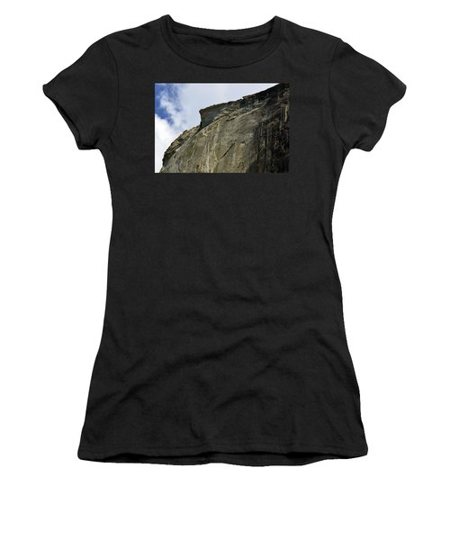 Half Dome With A View Of The Visor  Women's T-Shirt (Athletic Fit)
