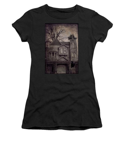 Halloween In Old Town Women's T-Shirt