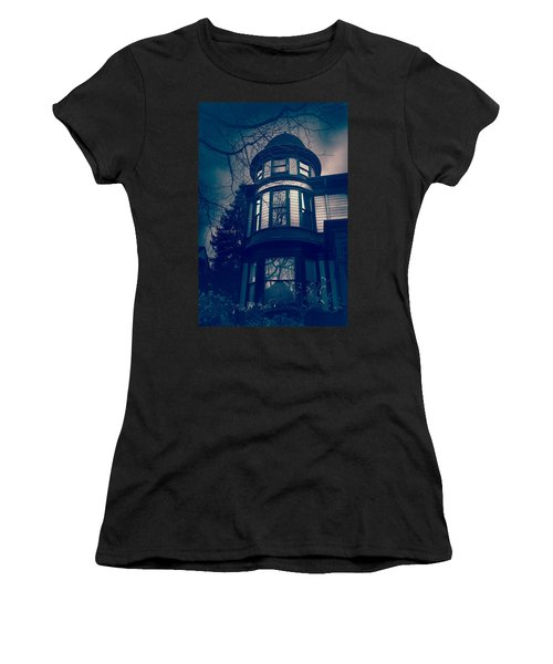 Halloween In The Park Women's T-Shirt (Athletic Fit)