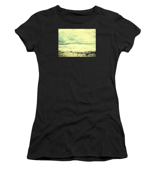 Hallucination On A Beach Women's T-Shirt (Athletic Fit)