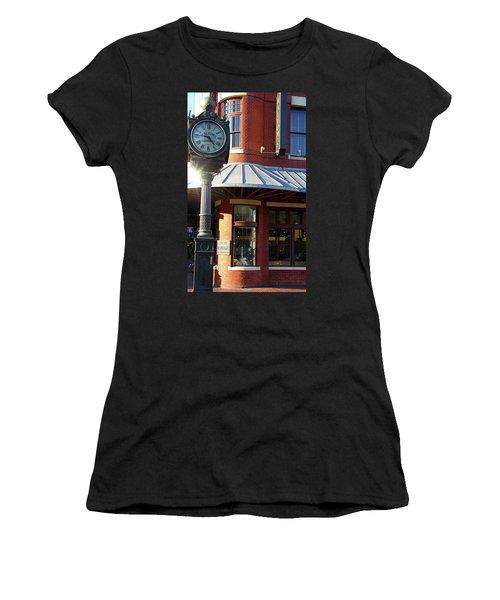 Haltoms Diamonds Clock Women's T-Shirt (Athletic Fit)